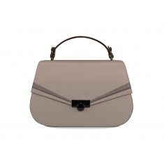 Astra Satchel - Taupe / Dark Taupe