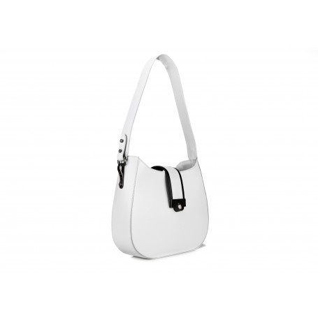Astra Hobo - White / Black