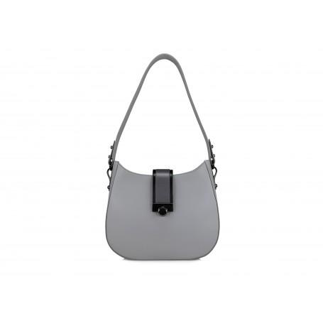 Astra Hobo - Silver Filigree / Dark Grey