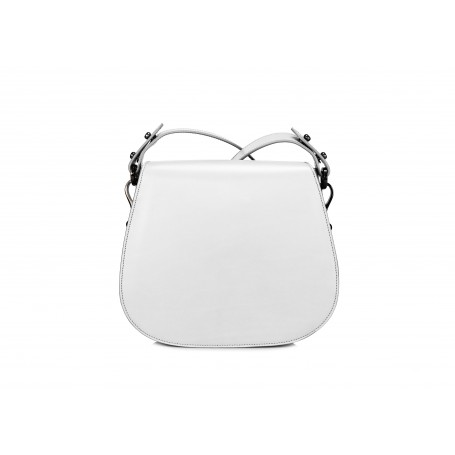Astra Crossbody - White / Black