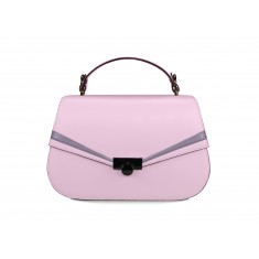 Astra Satchel - Cherry Blossom / Lavender