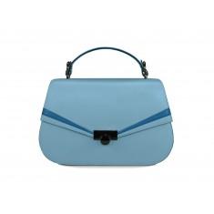 Astra Satchel - Pastel Blue / Space Blue